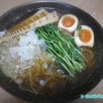 美味い!すっぽん鍋の後はスープを使って「すっぽんラーメン」を作る